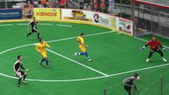 Teamwork, Soccer, Futbol Stock Footage
