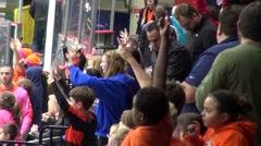 Spectators, Fans, Crowds, Audiences, People Stock Footage