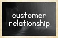 Stock Illustration of customer relationship concept