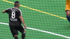 Indoor Soccer, Futbol, Sports, Athletics Stock Footage
