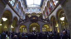 Vienna Palais Ferstel Stock Footage