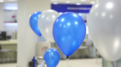 Swaying balloons - stock footage