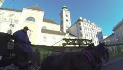 Freyung, Vienna Stock Footage