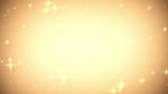 Gold glares festive loop background Stock Footage
