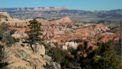 United States of America, USA, Utah, Bryce Canyon National Park - stock footage