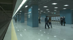 Marmaray Tube Tunnel(120) Stock Footage