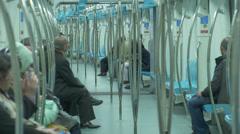 Marmaray Tube Tunnel(127) Stock Footage