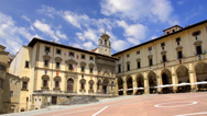 Stock Video Footage of tuscany, arezzo, piazza grande