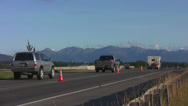Stock Video Footage of Seward Hiway, Anchorage