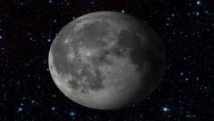 Sun and Moon - stock footage
