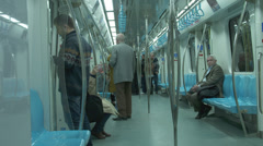 Marmaray Tube Tunnel(125) Stock Footage