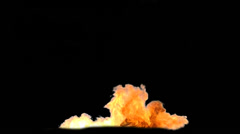 Explosion - pre keyed with alpha Channel for easy use - Clip 04 Stock Footage