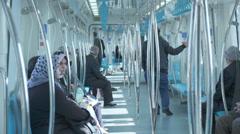 Marmaray Tube Tunnel(126) Stock Footage