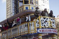 Duck Dynasty show Stars in 2013 Macy's Parade Stock Photos