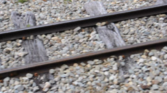 """""""End of the World"""" railway. Ushuaia, Argentina Stock Footage"""