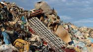 Stock Video Footage of Garbage mountain - garbage dump, landfill 3