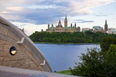 Parliament hill Stock Photos
