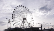 Stock Video Footage of Ferris Wheel Afternoon