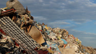 Stock Video Footage of Garbage mountain - garbage dump, landfill 4