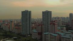 Singapore Flats Timelapse Stock Footage
