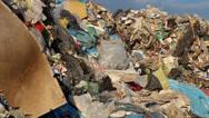 Stock Video Footage of Garbage mountain - garbage dump, landfill 5