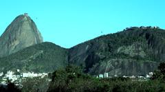 Rio de Janeiro Sugar Loaf view Stock Footage