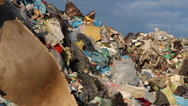 Stock Video Footage of Garbage mountain - garbage dump, landfill 6
