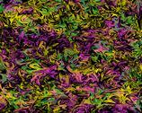 Stock Photo of Wild Colors on Black