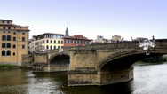 Stock Video Footage of florence, arno river