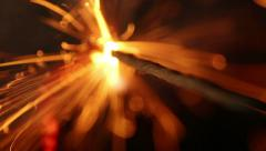 Fuse burning Stock Footage