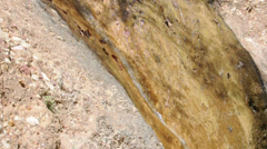 Stream in Ghalat mountains, Iran Stock Footage