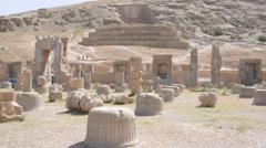Persepolis, Iran Stock Footage