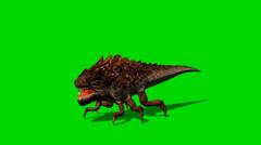 Alien Bug Creature Attack - green screen kuvamateriaalia Arkistovideo