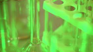 Stock Video Footage of Laboratory ware