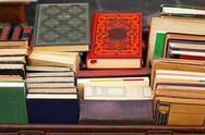 Stock Photo of second hand books