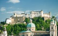 Stock Photo of hohensalzburg fortress in salzburg. austria