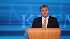 Dmitry Peskov Stock Footage