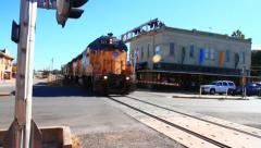 Train - Missouri Pacific Stock Footage