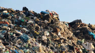 Stock Video Footage of Garbage dump, waste disposal, landfill.