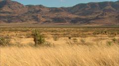 High Desert Mountain Range Stock Footage