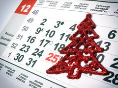 Advent month Stock Photos