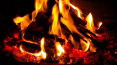 Fireplace 10 Stock Footage