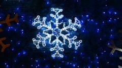 Christmas Tree With Light - stock footage