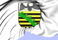 Free state of prussia after 1918 coat of arms Stock Illustration