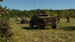 German convoy 2 Stock Footage