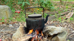 Boil water Stock Footage