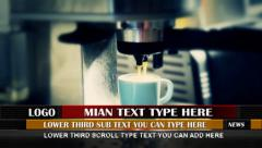 Multi Type News Lower Third - stock after effects
