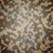 desert army camouflage background - stock illustration