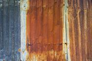 Rusty zinc old Stock Photos