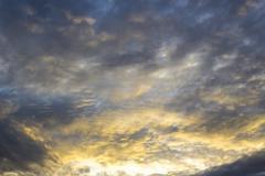 sunrise sky background - stock photo